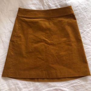 JCrew Corduroy Mini-Skirt